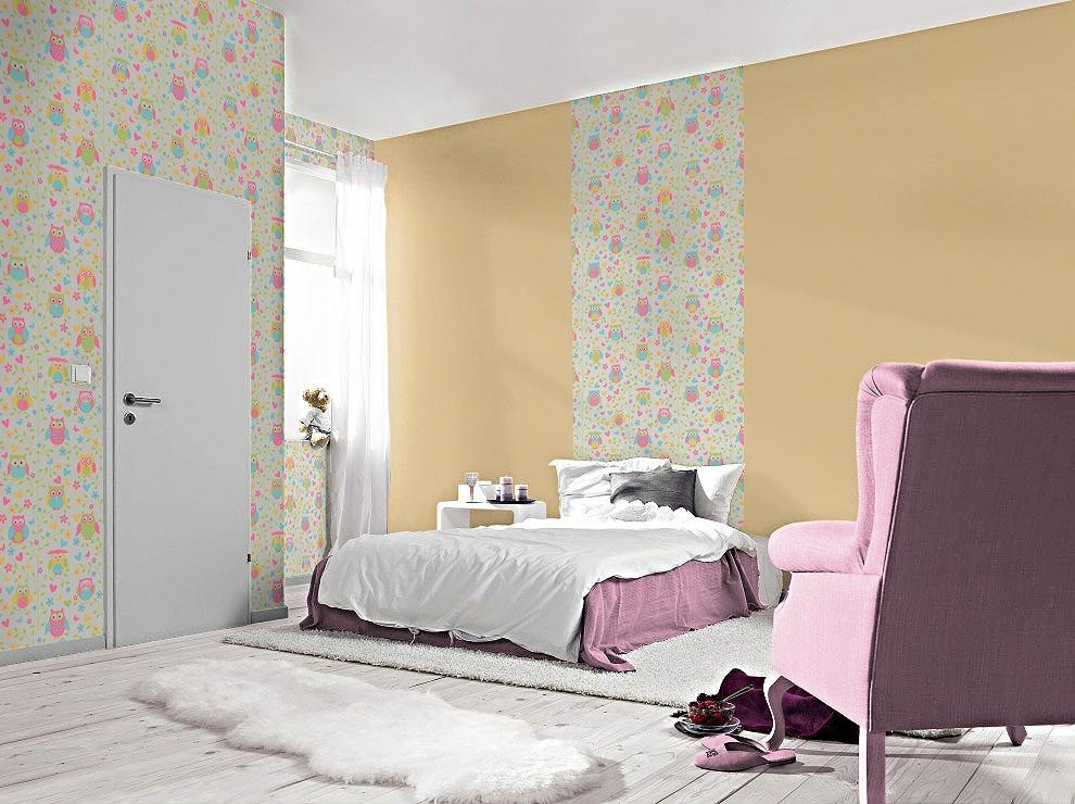 459104 RASCH в детской спальне